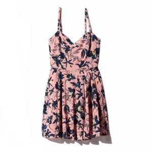 TALULA ARITZIA Lipinski Dress in Pink/Floral